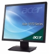"монитор Acer ET.BV3RE.A11 17"" V173Abm, 1280x1024, 5ms, 300cd/m2, 7000:1, 160°/160°, w/Spk, ТСО-03, Black"