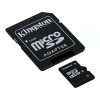 флеш-карта Kingston SDC4/8GB micro Secure Digital Card 8Gb + adapter for SD Card
