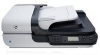 сканер HP L2703A#BEC Scanjet N6350 Networked Document Flatbed Scanner (2400x2400 dpi, 48 bit, ADF 50sheets, 15 ppm, Duplex, USB/LAN)